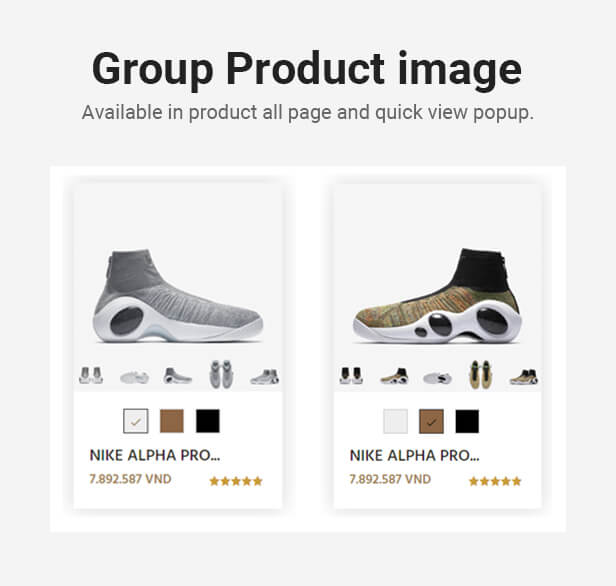 Agilis - Shopify section, personalize and optimized performance theme