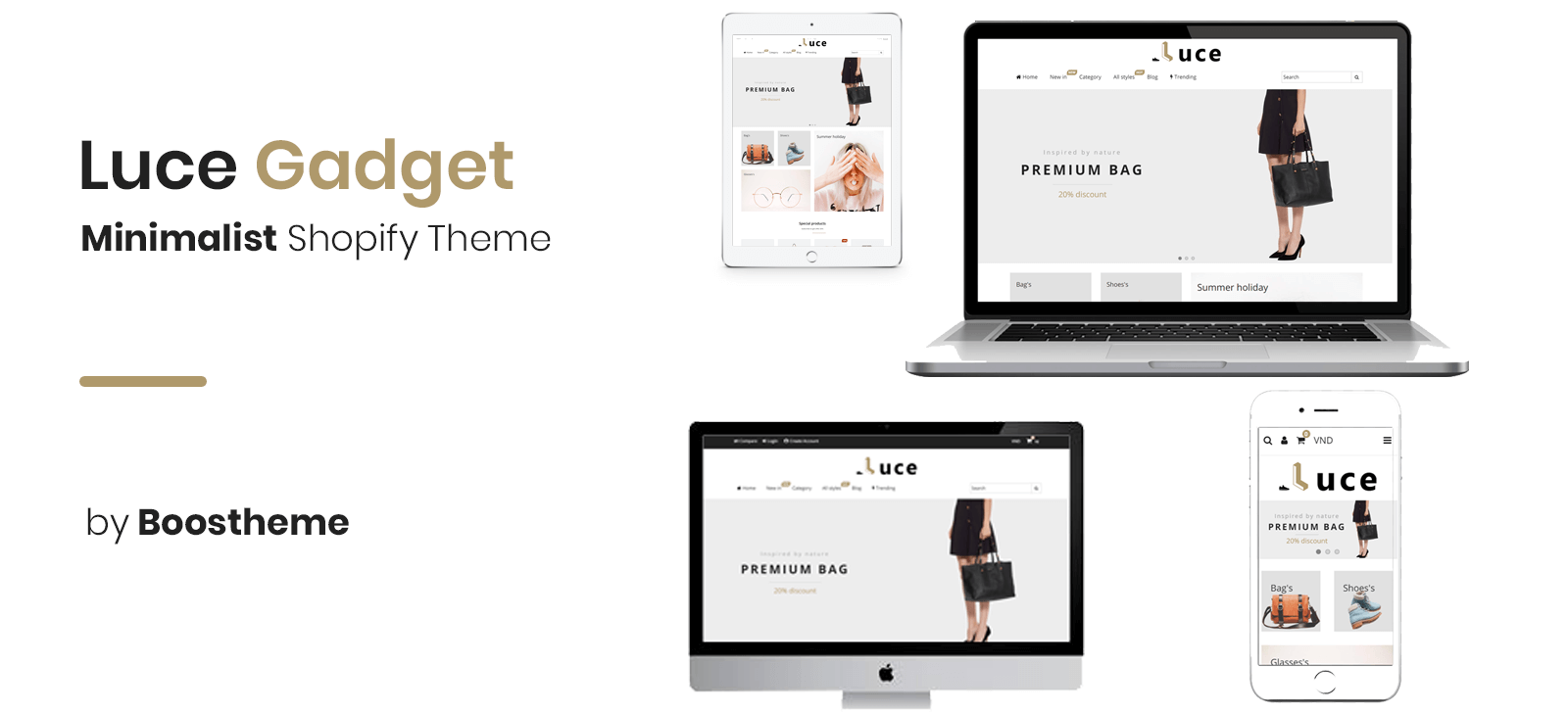 Luce - Multipurpose Fastest Shopify Themes